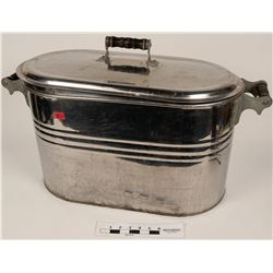 Shiny Steel Laundry Tub  (108748)