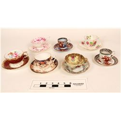 Artistic Historic Coffee/Tea cup/saucer Pairs  (125256)
