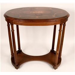 Oval Hall Table  (120636)