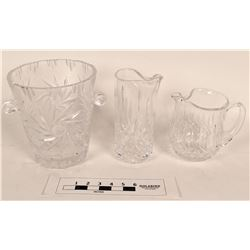 Waterford Crystal Pitchers and Ice Bucket  (125336)