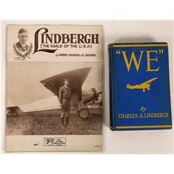 Charles Lindbergh Book & Sheet Music  (119330)
