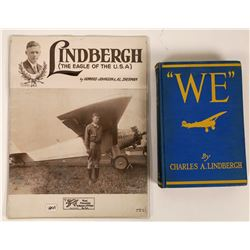 Charles Lindbergh Book & Sheet Music  (119330)