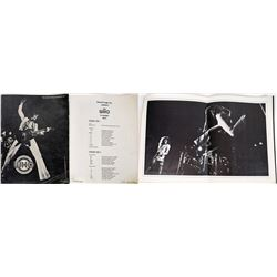 "Tour Souvenir Program ""The Who"" 1971   (119386)"