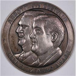 Abbott & Costello Good Citizenship Award Medal  (124260)