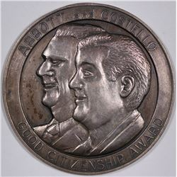 Abbott & Costello Good Citizenship Award Medal  (124260)