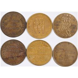 Gold Diggers of 1933 Medals (3)  (124253)