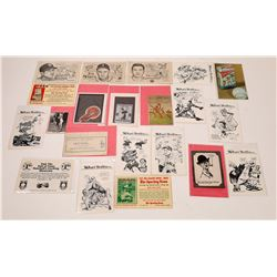 Willard Mullin Trading Cards & More (20 pieces)  (125837)