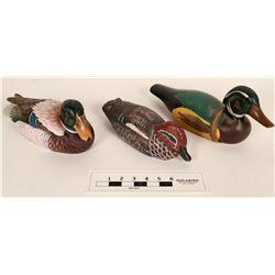 Duck Decoy Carvings (3)  (125014)