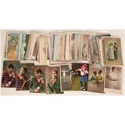 Tennis Postcards and Ephemera  (125842)