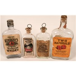 Early Whiskey Bottle Quartet  (122775)