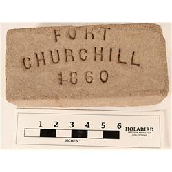 Adobe Brick Commemorative from Ft. Churchill  (124647)