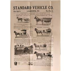 Early Pony Cart Wagon Catalog  (124299)