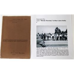 Instruction Book, Deputy Sheriff (non-compensated), Monterey Calif  (120355)