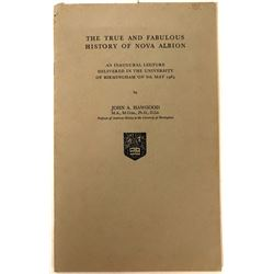 Paperback Book about New Albion  (119338)