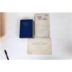 California 1932 Blue Book &  1897 CE Convention Report  (124525)