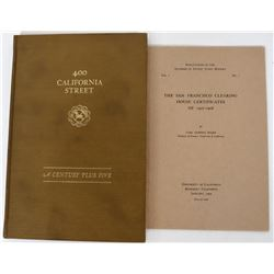 California Banking Books (2)  (124323)