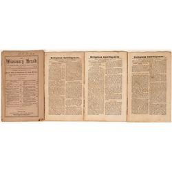 Religious Periodicals from 1800's  (124455)