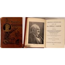 Biography of P.T. Barnum 1st Edition  (119331)