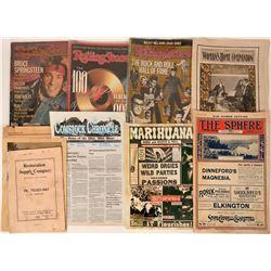 Rolling Stones & Victorian Publications, etc.  (122039)