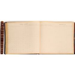 Sacramento City/County Expense Ledger, 1911  (125229)