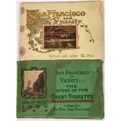 Two San Francisco Earthquake Photo Books  (124592)