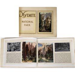 Yosemite National Park Picture & Info Book  (124519)
