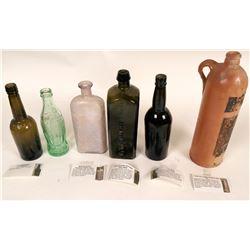 Bottle Collection Dug in the Nevada Desert  (123189)