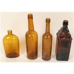 Nevada Dug Bottles (4)  (123190)