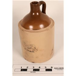 Douglass Clay Product Company Ceramic Liquor Jug  (125149)