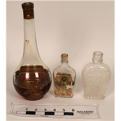 Liquor & Olive Oil Bottles  (122868)