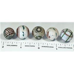 China Marbles, Unglazed - 5  (125414)