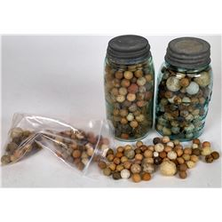 Clay Marbles - 200+  (125375)