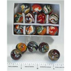 Jabo Machine Made Marbles - 16  (125417)