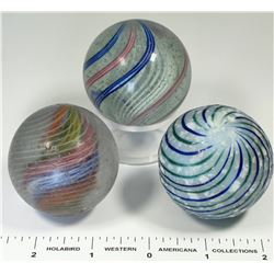 Large Swirl Marbles - 3  (125390)