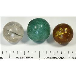 Mica marbles - 3  (125364)