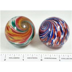 Onionskin Marbles, Large - 2  (125378)