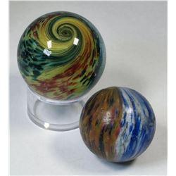 Onionskin Marbles, Large Paneled - 2  (125380)