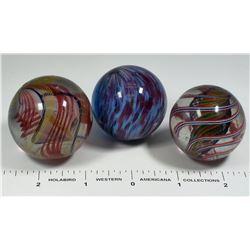 Ribbon Core, Solid Core, Onionskin Marbles  (125400)