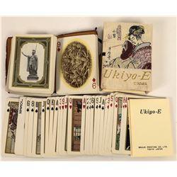 Playing Cards, Vintage Souvenirs, 2 Decks  (124121)