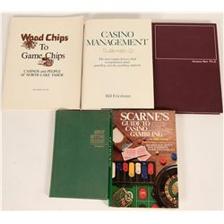 Gambling Reference Books (5)  (125223)