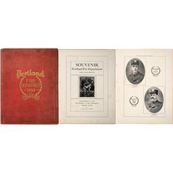 Portland Fire Department Illustrated Souvenir Book  (125305)