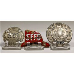 Badges from the Fire Dept.  City of San Francisco (3)  (125314)