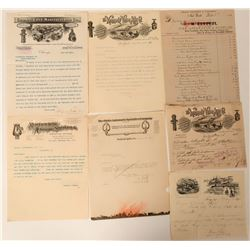 Billheads & Letterheads From Fire Hydrant & Valve Manufacturers  (125563)