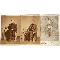 Cabinet Portraits of Fireman (3)  (125637)