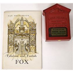 Cast Iron Fire Alarm Box, with Booklet  (125650)