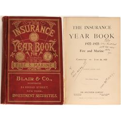 Fire and Marine Insurance Year Book  (125652)
