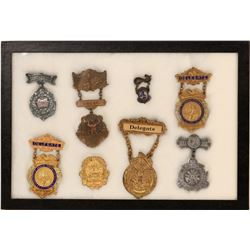 Fire Department Convention Badges (Lot of 8)  (125303)