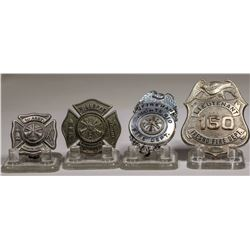Fire Dept Badges from California City and/or Town  (125316)