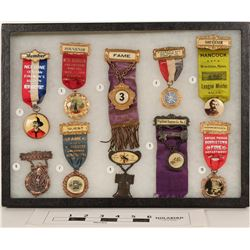 Fire Dept. Conv. Ribbons for New England States (10)  (125306)