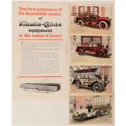 Fire Engine Manufacturers Promotional Ads (2)  (125329)